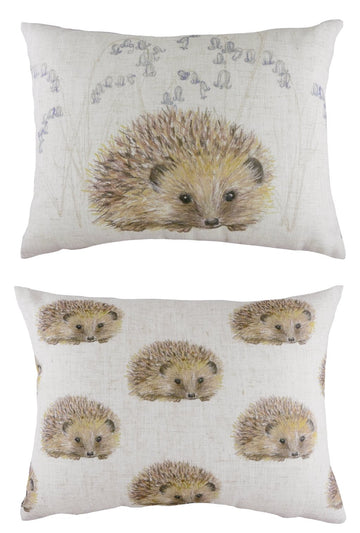 Rural Hedgehog Repeat Cushion
