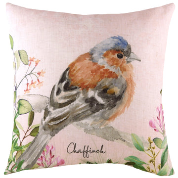 Spring Birds Chaffinch Cushion