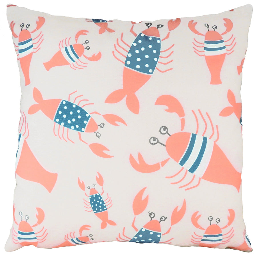 Lobster Natural Repeat Cushion