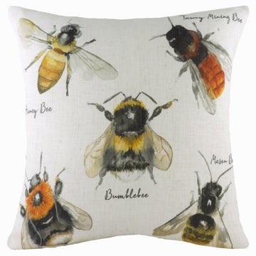 Species Bees Cushion