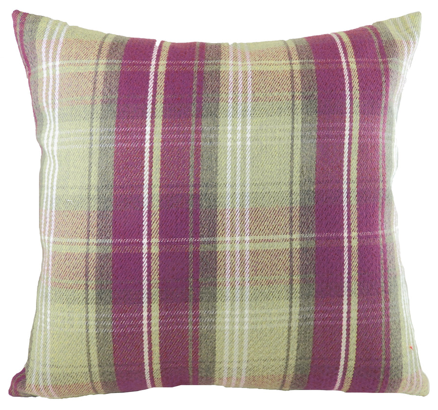 Stirling Check Heather Cushion