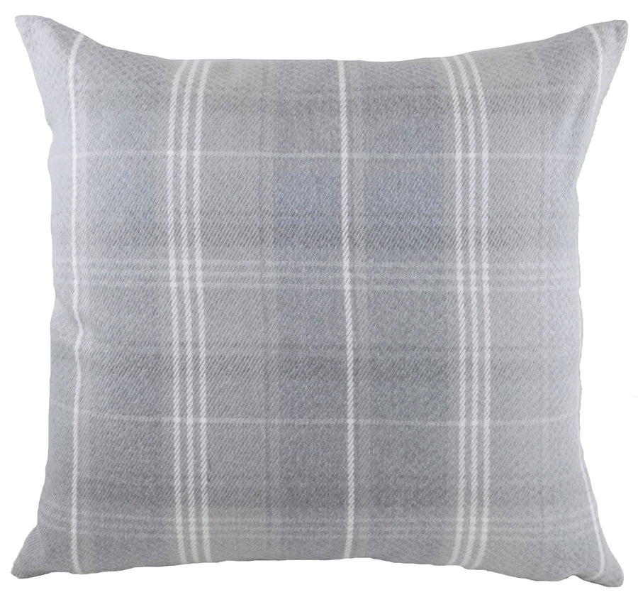 Stirling Check Grey Cushion