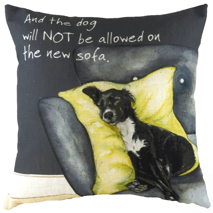 The Little Dog Laughed New Sofa Cushion