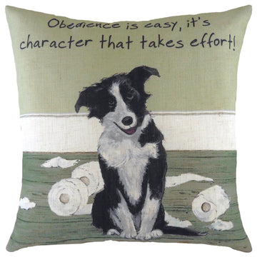 The Little Dog Laughed Obedience Cushion