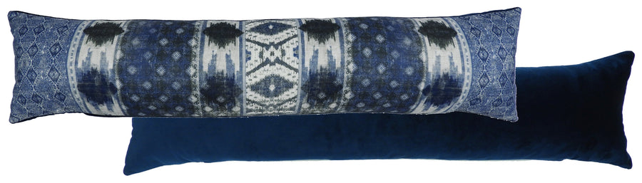Tribal Blue Draught Excluder