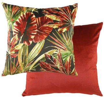 Tropics Red Cushion