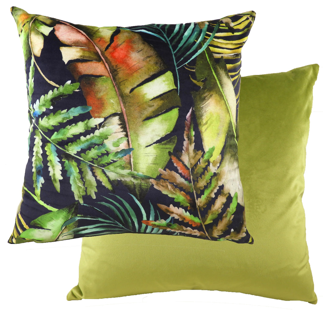 Tropics Green/Teal Cushion