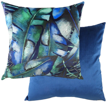 Tropics Blue Cushion