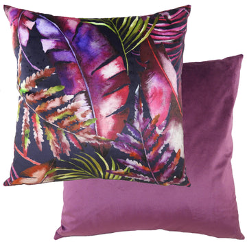 Tropics Amethyst Cushion
