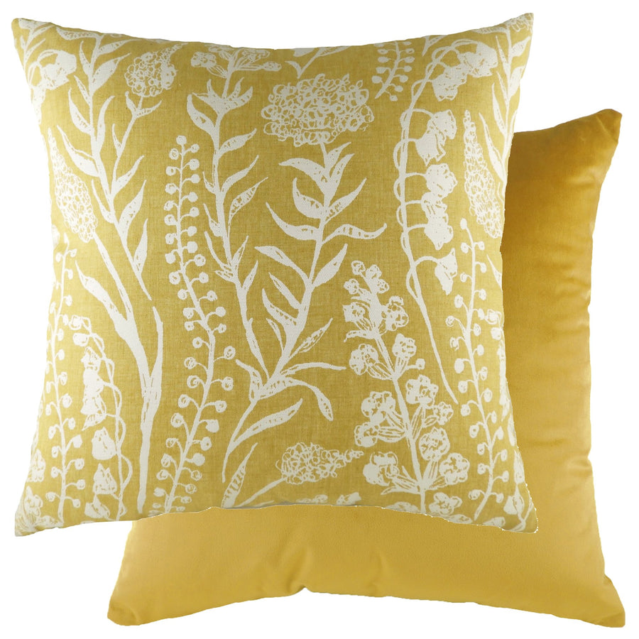 Turi Sunflower/Velvet Gold Cushion