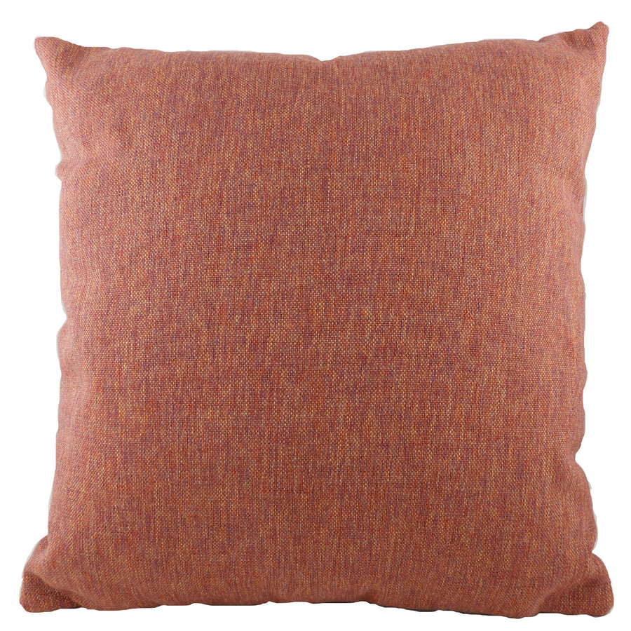 Tweed Blood Orange Cushion