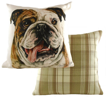 WaggyDogz Bulldog Cushion
