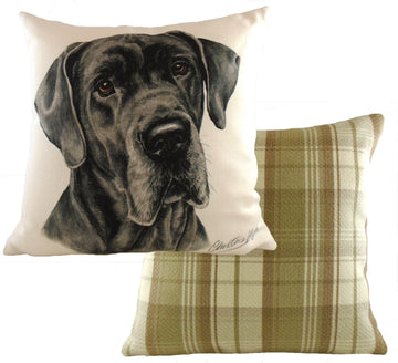 WaggyDogz Great Dane Cushion