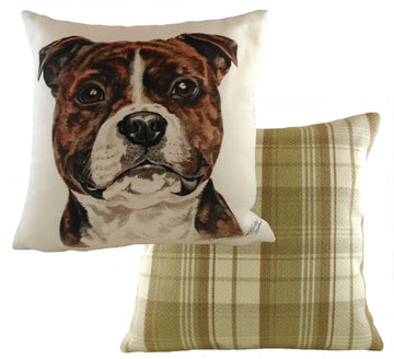 WaggyDogz Staffs Bull Terrier Cushion