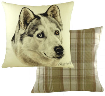 WaggyDogz Husky Cushion