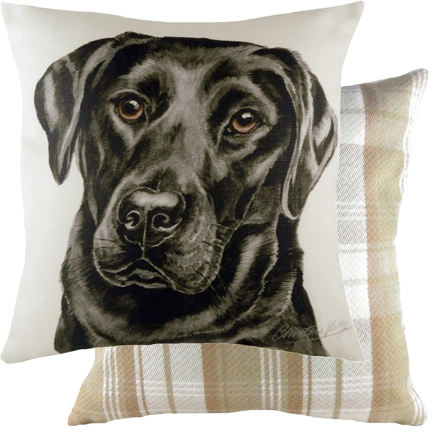 WaggyDogz 2020 Black Labrador Cushion