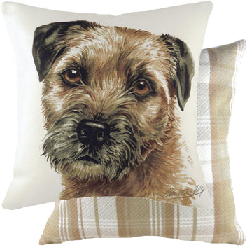 WaggyDogz 2020 Border Terrier Cushion