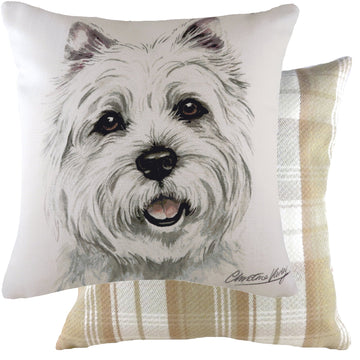 WaggyDogz 2020 Westie Cushion