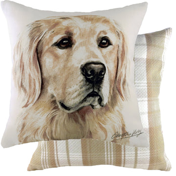 WaggyDogz 2020 Golden Retriever Cushion