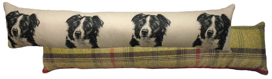 Border Collie Draught Excluder