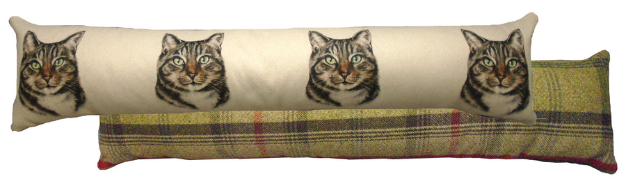 Tabby Cat Draught Excluder