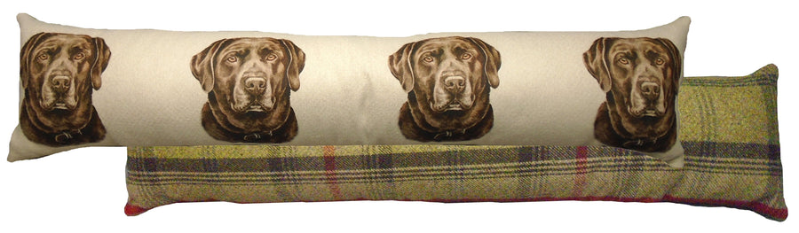Chocolate Labrador Draught Excluder