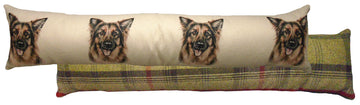 German Shepherd Draught Excluder