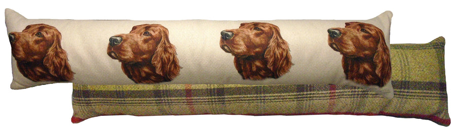Irish Setter Draught Excluder