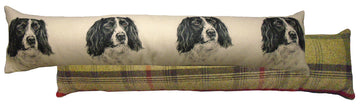 Black Springer Spaniel Draught Excluder
