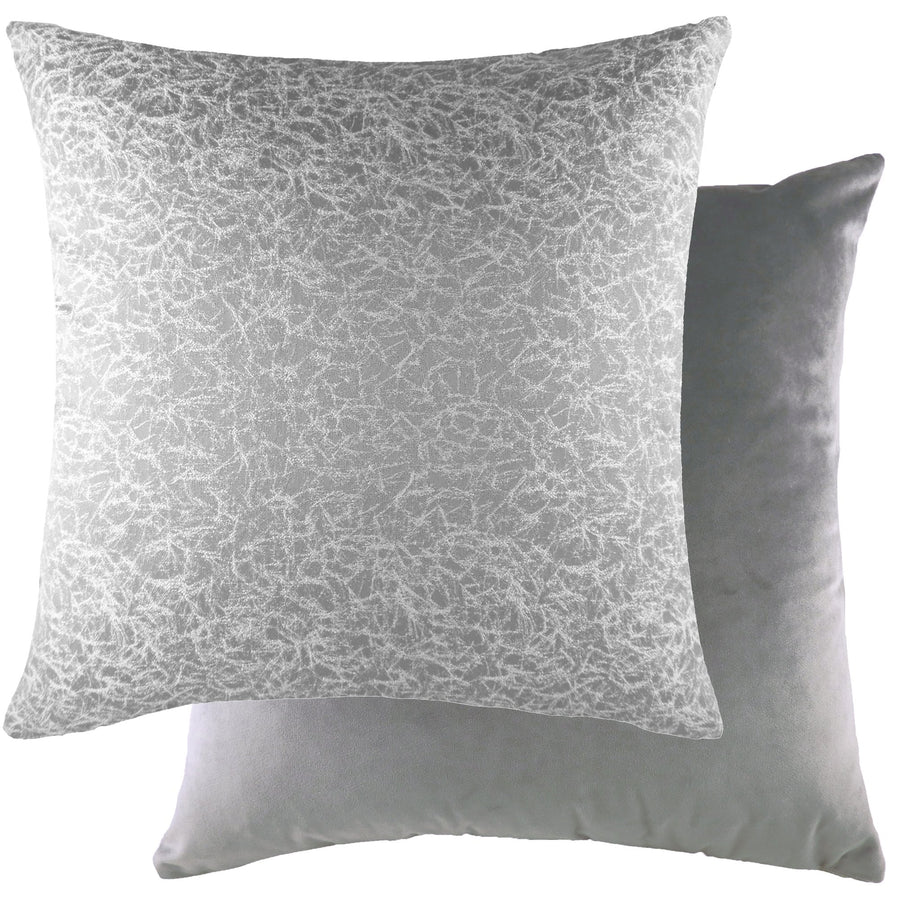 Wick Dove/Velvet Steel Cushion