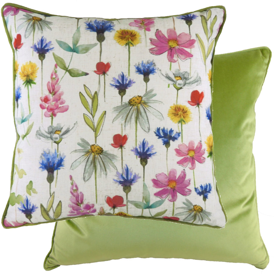 Wild Flowers Sophia Piped Cushion