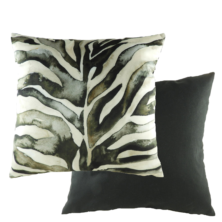 Wildlife Zebra Print Cushion