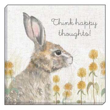 Woodland Hare Thoughts Canvas