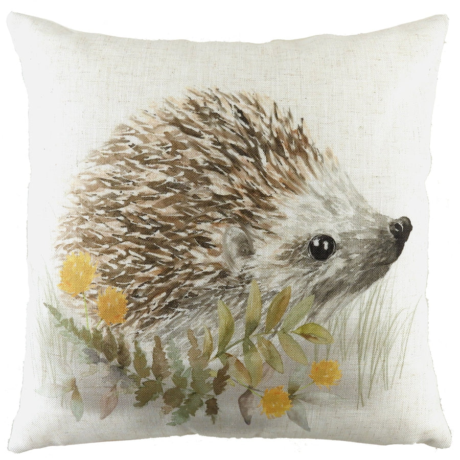 Woodland Hedgehog Cushion