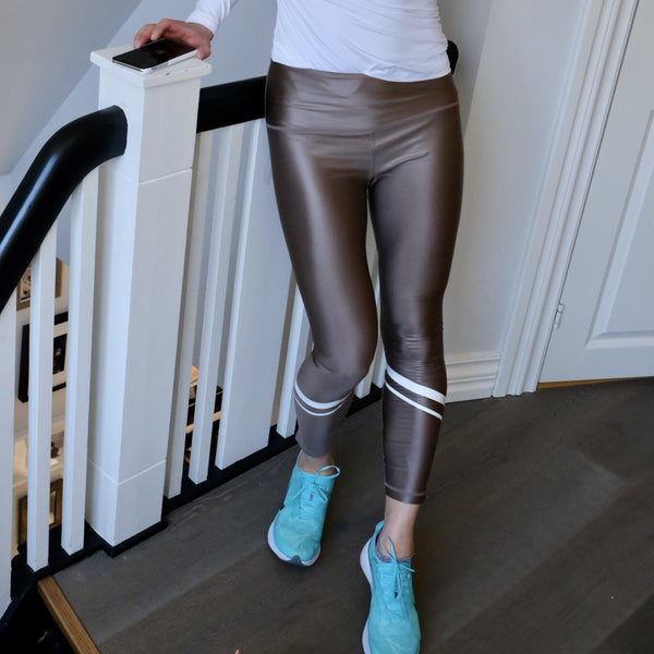 Recycled Leggings Pacific Shiny Champagne