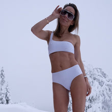 Load image into Gallery viewer, Bikini Recycled Pacific Crispy White High-Waist