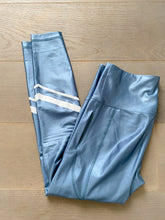 Load image into Gallery viewer, Recycled Leggings Pacific Shiny Blue