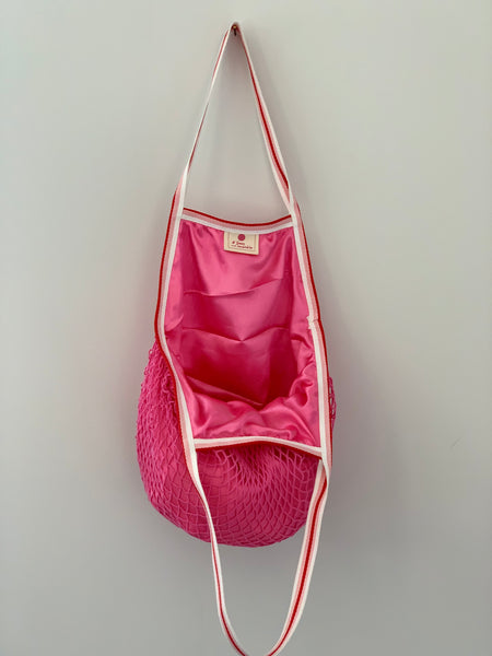 Hot pink luxury bag
