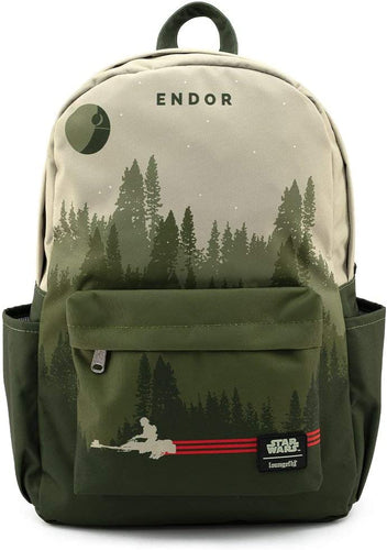 Loungefly Star Wars Endor Speeder Bike Nylon Backpack Standard