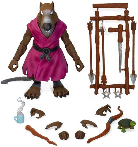 Super 7 TMNT ULTIMATES Wave 1 Splinter Action Figure