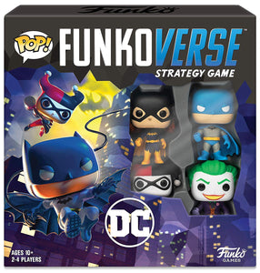 Funko Pop! - Funkoverse Strategy Game: DC #100 - Base Set
