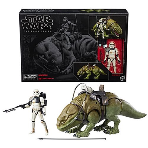 Star Wars The Black Series 6-Inch Dewback and Sandtrooper Action Figure