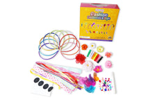 18 Fashion Headbands & Hair Clips for Girls Jewelry Making Kit - Best Arts and Crafts DIY Headbands Kit Great for Creative Decorating Party Fun