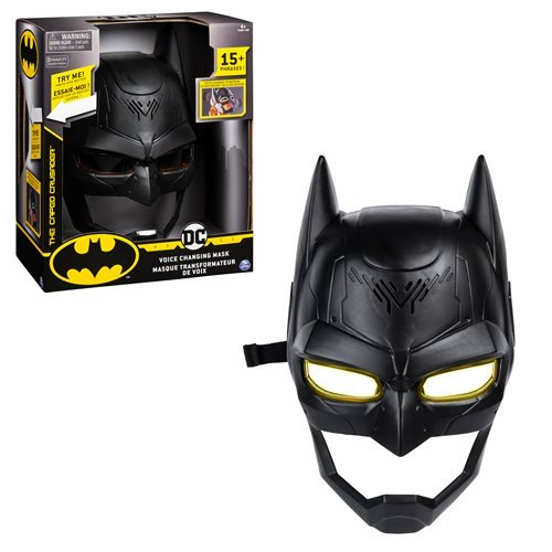 Batman Voice-Changing Mask - PreOrder