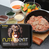 Nutriment Turkey Formula Working Adult Dog Food 500g