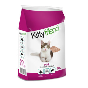 Sanicat Kittyfriend Pink Cat Litter 30L