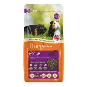 Burgess Excel Guinea Pig Nuggets Black Currant & Oregano 2kg
