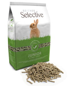Science Selective Junior Rabbit With Spinach 1.5kg