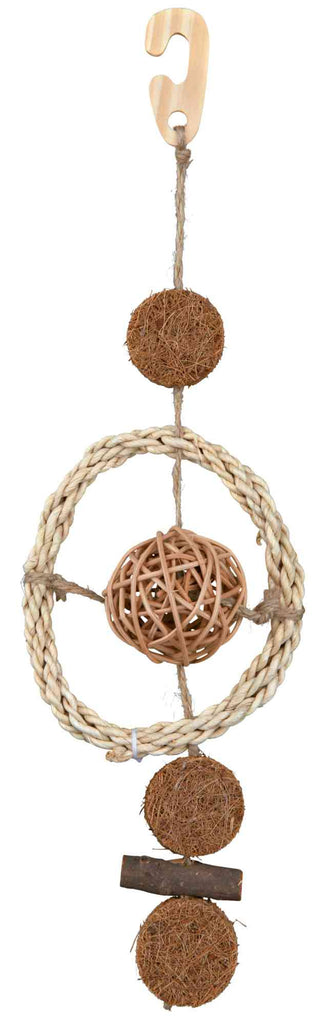 Trixie Bird Toy, Natural Materials 35cm