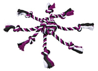 Trixie Denta Fun Rope Toy with Woven in Ball, 44 x 7 cm